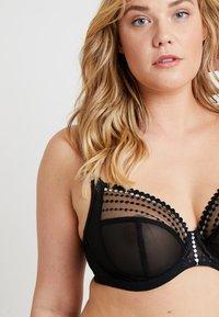 Elomi - MATILDA PLUNGE BRA - Underwired bra - black - 4