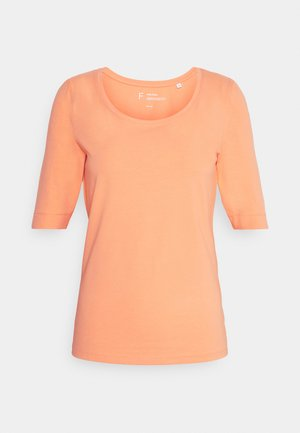 SANIKA - Basic T-shirt - orange peel