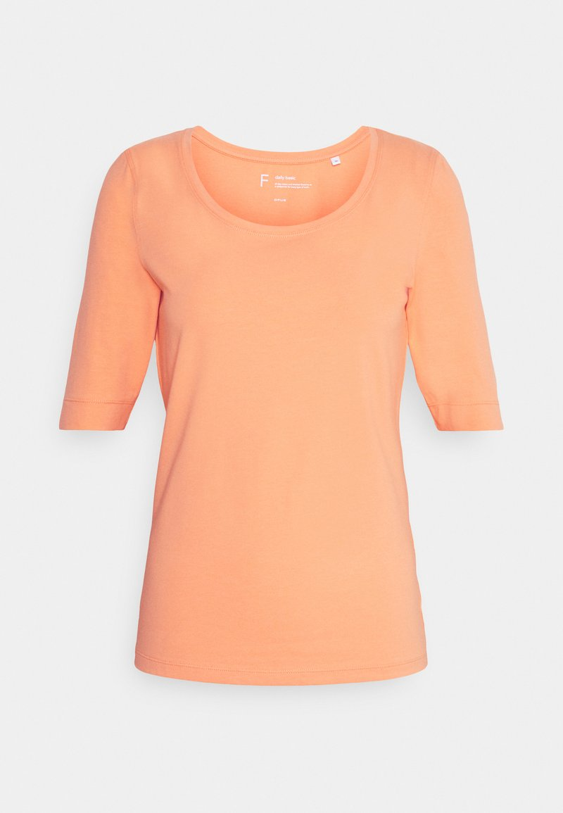 Opus - SANIKA - Basic T-shirt - orange peel