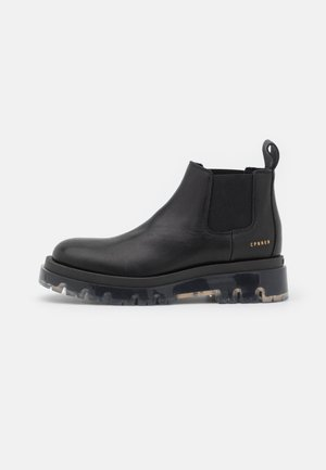 CPH1001  - Platform ankle boots - black clear