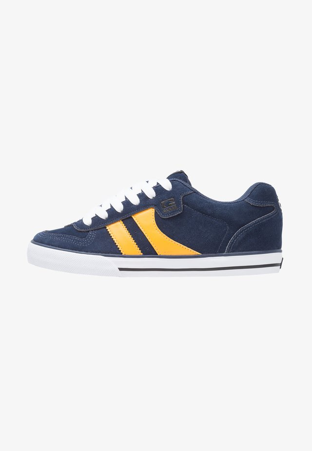 ENCORE  - Skate shoes - navy/yellow