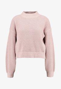 Hollister Co. - MATTE MOCK - Pullover - light pink - 3