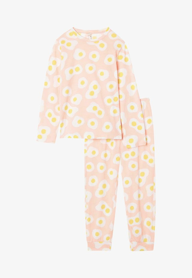 SET - Pyjamaser - sweet pink st.eggs