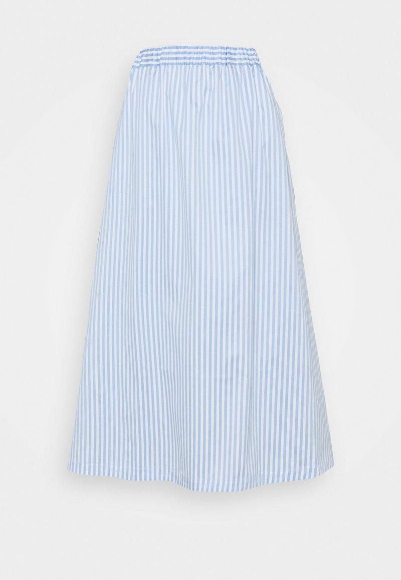 Libertine-Libertine - BOX - Áčková sukně - light blue stripe