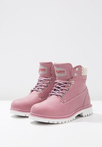 KangaROOS - RIVETER  - Lace-up ankle boots - pink - 3