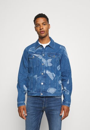 SHARD JACKET - Spijkerjas - blue