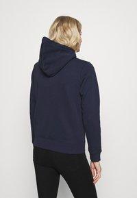 GANT - ARCHIVE SHIELD FULL ZIP HOODIE - Zip-up hoodie - evening blue - 2