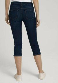 TOM TAILOR - Denim shorts - used mid stone blue denim - 2