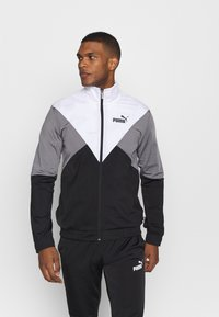 Puma - RETRO TRACK SUIT - Survêtement - black - 0