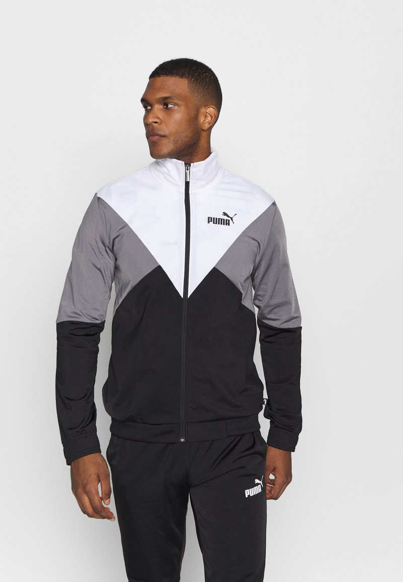 Puma - RETRO TRACK SUIT - Survêtement - black