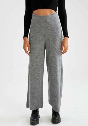 WIDE LEG  - Pantalon de survêtement - grey