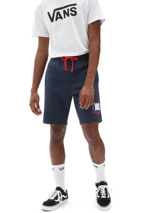 MN FREQUENCY FLEECE SHORT - Shorts - dress blues