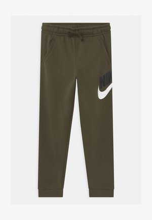 PLUS CLUB - Tracksuit bottoms - khaki
