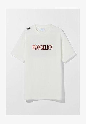 EVANGELION OVERSIZED - UNISEX - T-shirts print - white