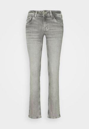 SATURN - Jeansy Straight Leg - grey