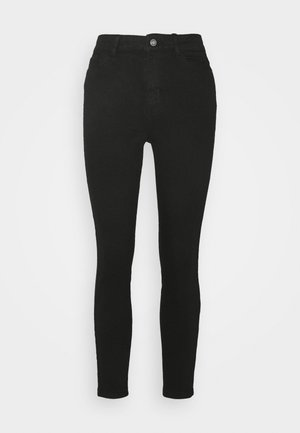 PCKAMELIA ANKLE - Jeans Skinny Fit - black