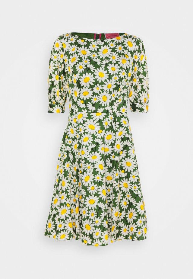 DAISY PUFF SLEEVE DRESS - Kjole - green