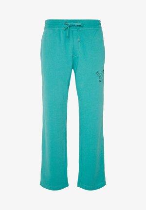 RELAXED - Teplákové kalhoty - camper green