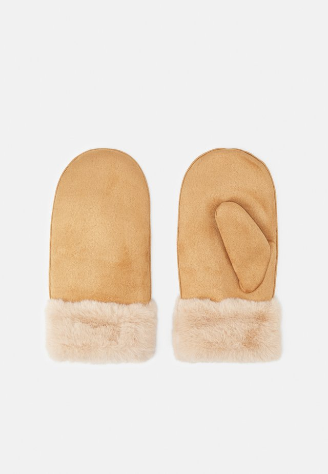 ANIMA GLOVES - Mittens - creamy camel