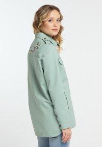 DreiMaster - Denim jacket - neo mint - 3