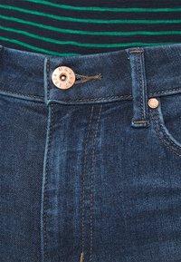 Marks & Spencer London - SOPHIA - Jeansy Straight Leg - dark blue denim - 4