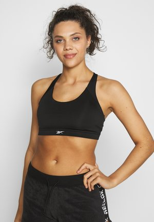 WORKOUT READY MEDIUM IMPACT BRA - Medium support sports bra - black