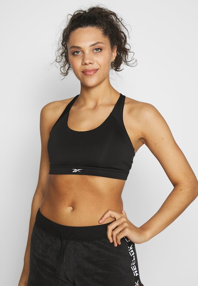 WORKOUT READY MEDIUM IMPACT BRA - Medium support sports bra - black