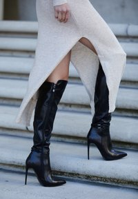 Laura Biagiotti - Over-the-knee boots - black - 4