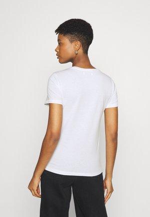 ONLHELLO RAINBOW  - Print T-shirt - white