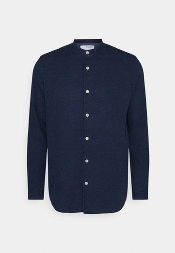 SLHSLIMCALLUM STRUCTURE - Shirt - dark blue