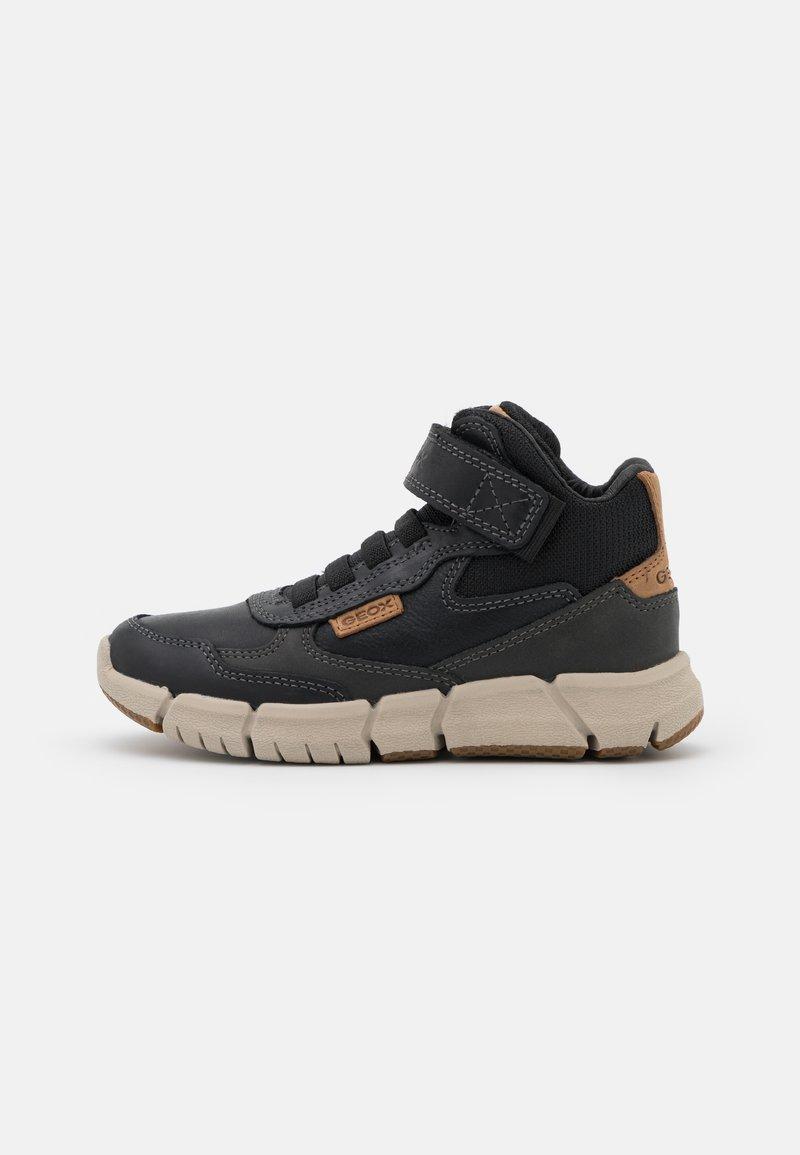 Geox - FLEXYPER BOY - Lace-up ankle boots - black