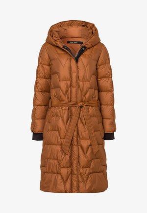 Winter coat - cognac
