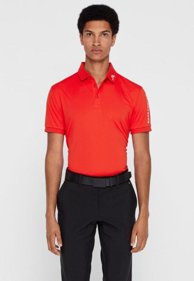 Polo shirt - racing red