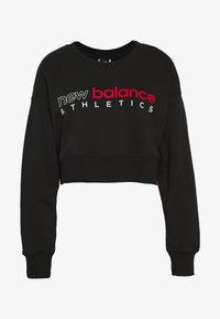 New Balance - ESSENTIALS ICON CREW - Sweatshirt - black - 4