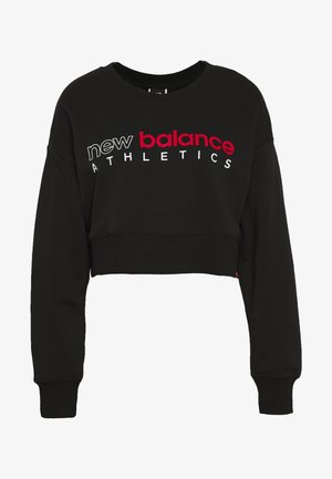 ESSENTIALS ICON CREW - Sweatshirt - black