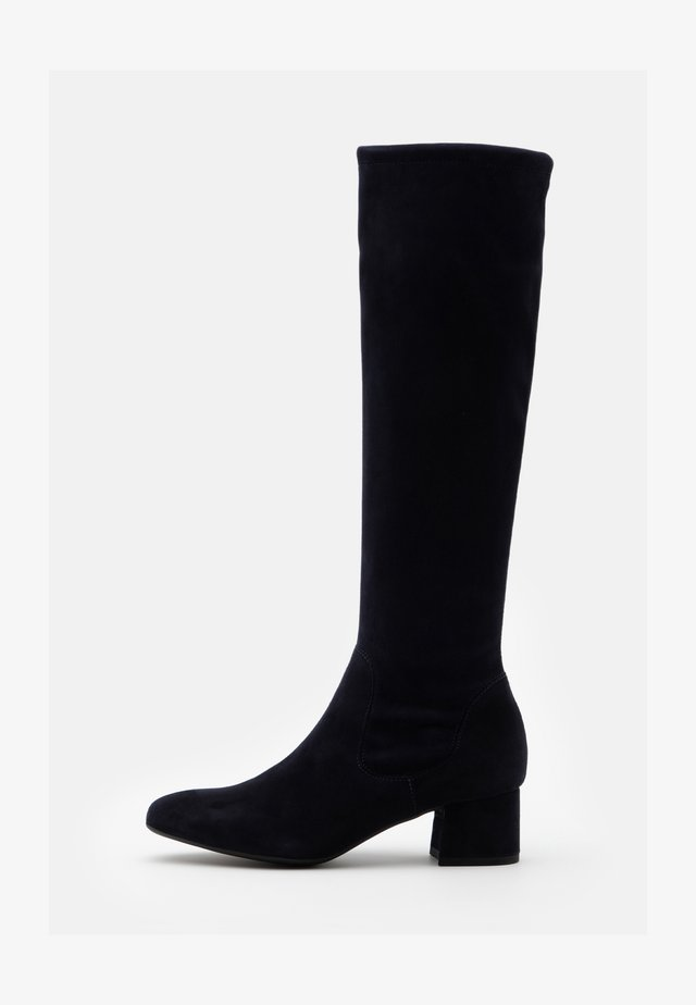 TOMKE - Boots - navy