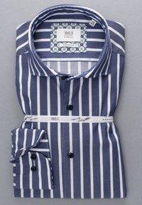 Eterna - MODERN - Formal shirt - marine/weiß - 4