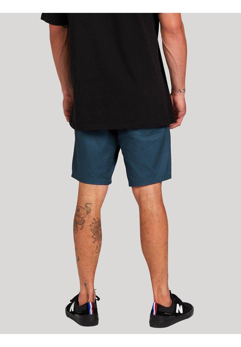 Volcom - MONGROL EW SHORT 18 - Shorts - faded_navy