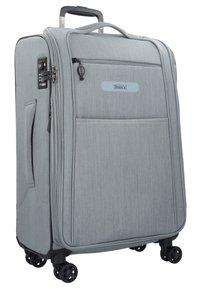 Stratic - FLOATING - Wheeled suitcase - stone grey - 3