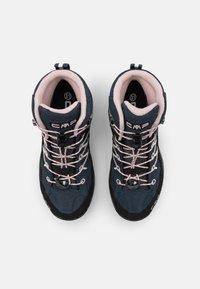 CMP - KIDS RIGEL MID SHOE WP UNISEX - Hiking shoes - asphalt/rose - 3