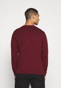 Carhartt WIP - POCKET  - Long sleeved top - bordeaux - 2