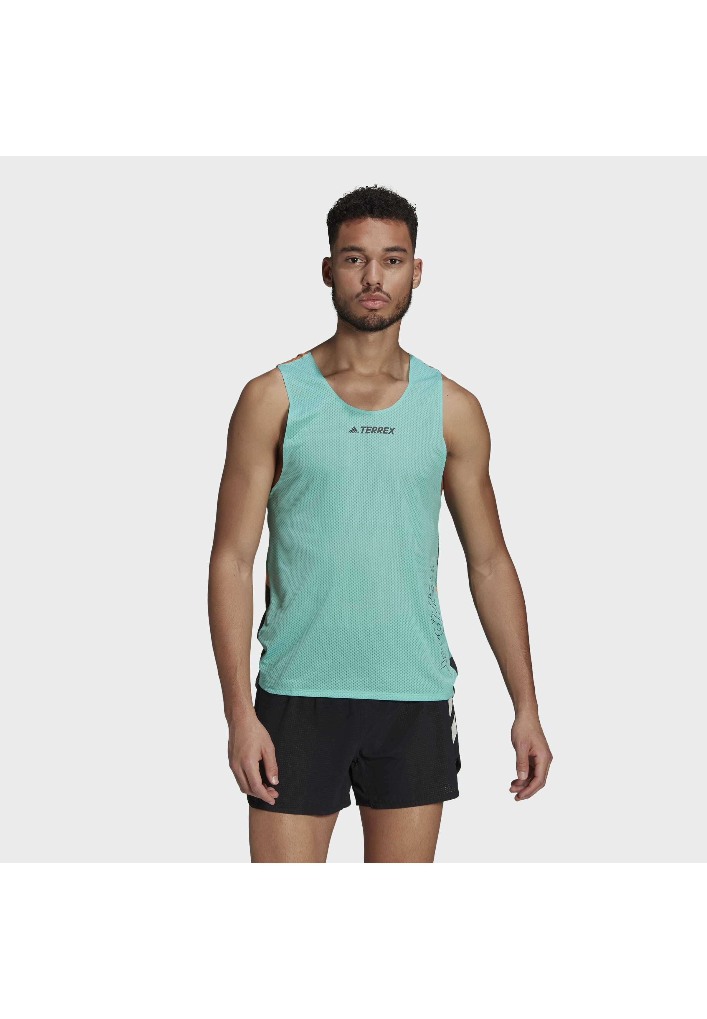 Men AGR SINGLET GFX - Sports shirt