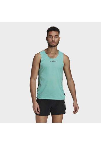 AGR SINGLET GFX - Sports shirt - green