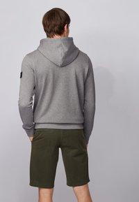 BOSS - ZOUNDS  - Zip-up hoodie - light grey - 2