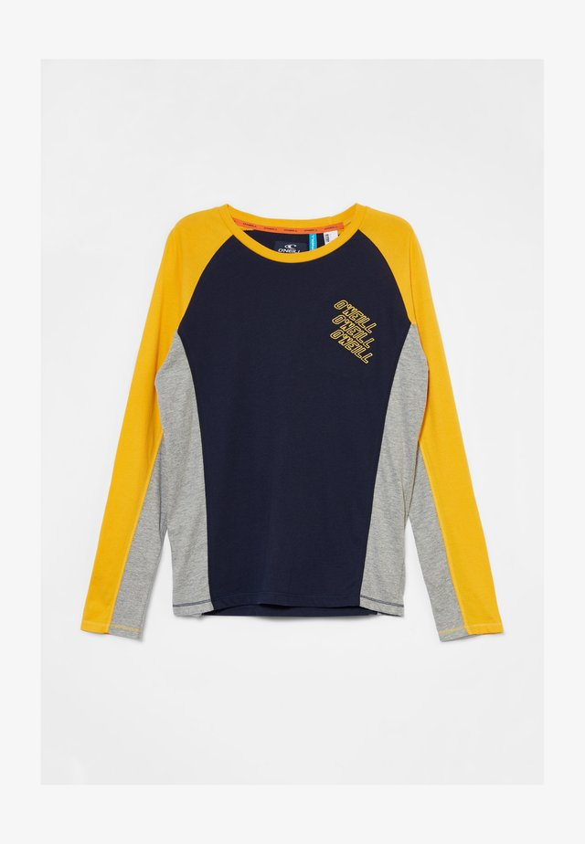 Long sleeved top - old gold