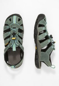 Keen - CLEARWATER CNX  - Walking sandals - mineral blue/yellow - 1