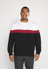 Pier One - Sweater - white/red/black - 0