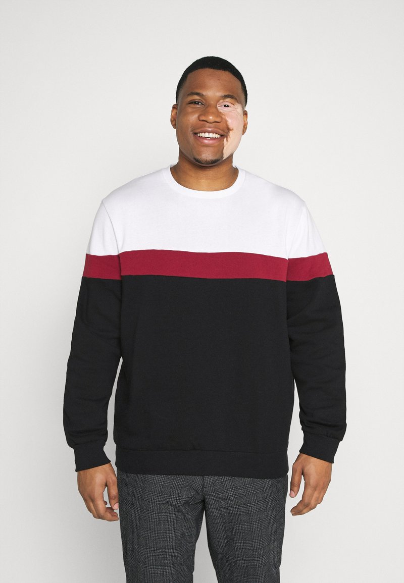 Pier One - Sweater - white/red/black