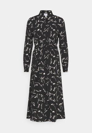 VMODEA CALF DRESS  - Maxi šaty - black/odea birch