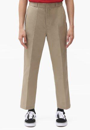 874 CROPPED PANTS - Trousers - khaki